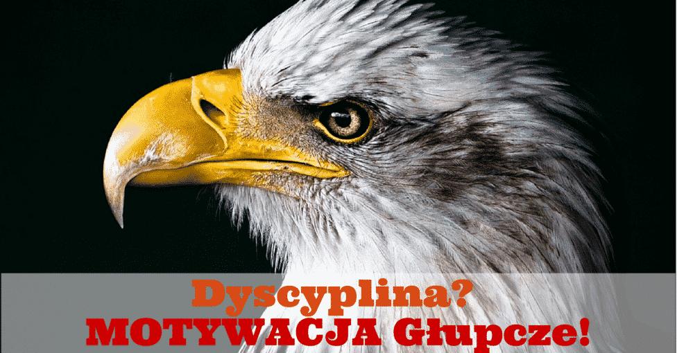 Dyscyplina- MOTYWACJA Głupcze!