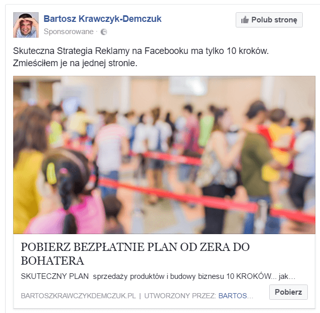 Efektywna reklama naFacebooku